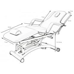 Table électrique Sphen (3 moteurs)