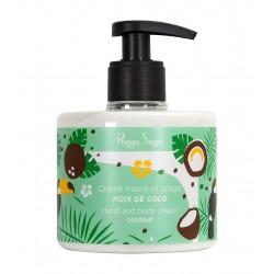 Crème mains et corps Noix de coco