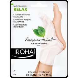 RELAXANTES Chaussettes Masque - Menthe