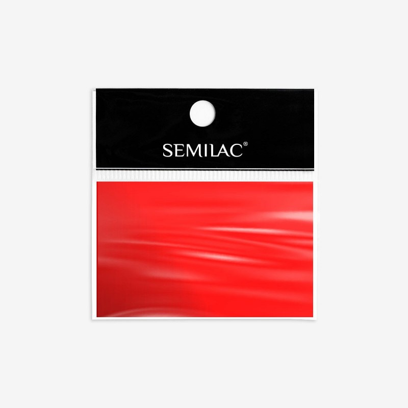 Semilac Transfer Foil Red nº746