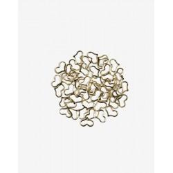 Decoraciones Semilac Gold Heart Frames nº776
