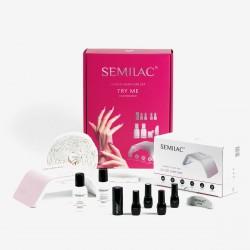 Semilac Kit Starter Vernis hybrides Try Me - LED 36W