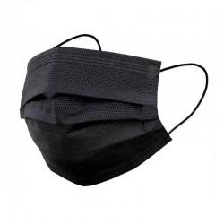 Masque jetable noir