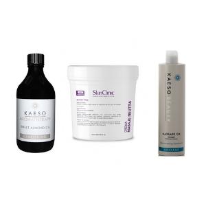 Crème et  huile de Massage